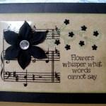 Flowers Whisper Card