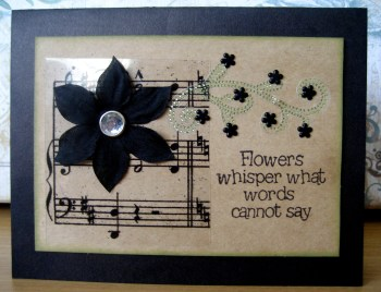 Flowers Whisper Card