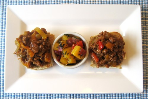 Healthy-BBQ-Sloppy-Joe-Sliders-Open-Face--Photo-5-For-Rent.Com