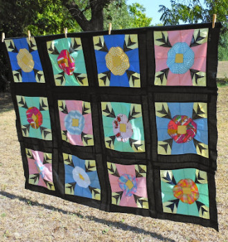 Cowgirl Red Quilt