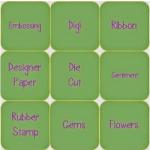 Crafty Sentiments Bingo Challenge