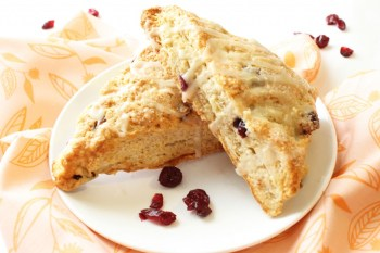 Whole Wheat Cranberry Scones