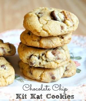 Kit Kat Cookies