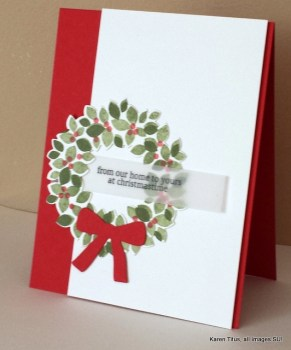 Christmas Wreath Card
