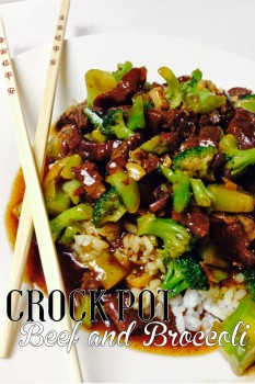 Slow Cooker Beef and Brocolli