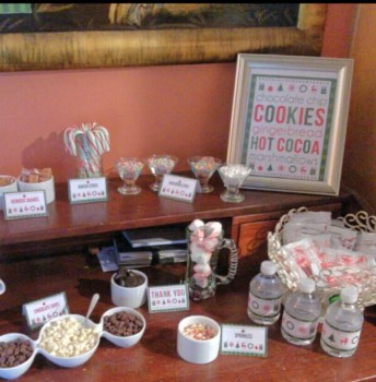 Cookies And Cocoa Party