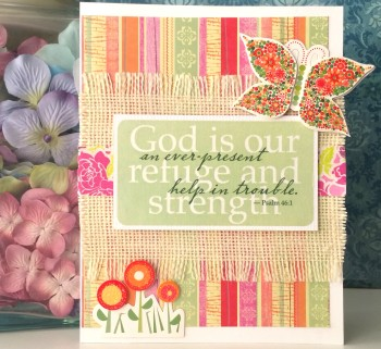 God Is Our Refuge And Strength Card