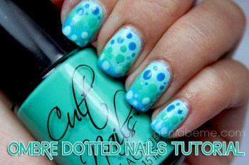 Ombre Dotted Nail Tutorial