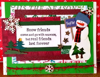 Real Friends Last Forever Card - 1