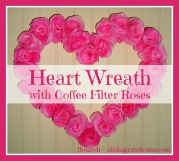 Heart-Wreath-with-Coffee-Filter-Roses