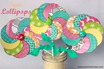 Paper Lollipops