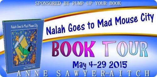 Nalah Goes To Mad Mouse City Book Tour