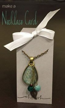 Necklace Card
