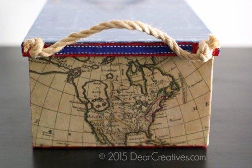 Dear Crativies - Decopauged DIY Box