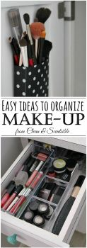 Make Up Organization Ideas