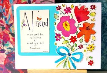 A Cheerful Friendship Card