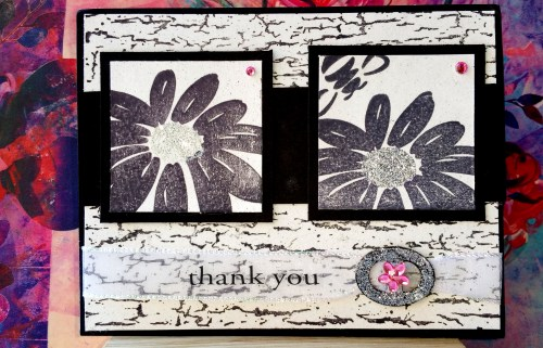 A Sophisticated Thank You Card