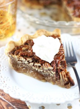 Brown Butter Bourbon Pecan Pie