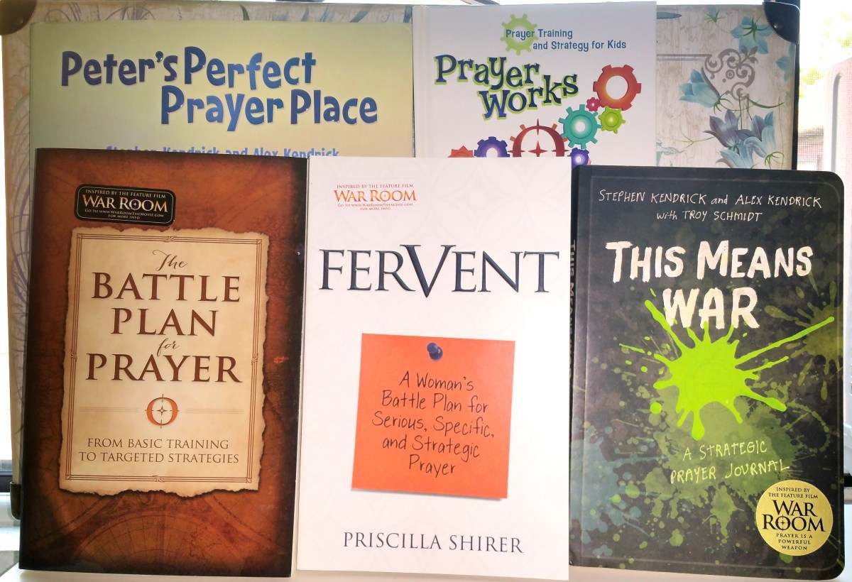 The War Room Giveaway – 5 Books To Help Your Family Unleash The