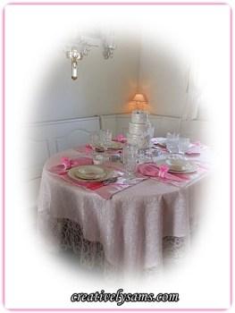 Birthday Tablescape