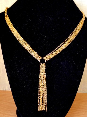 Gorjanna Mave Tassel Necklace