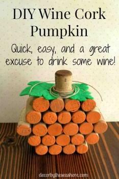 Cork Pumpkin