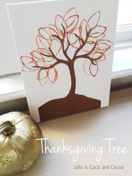Thanksgiving Tree Card