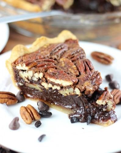Chocolate Espresso Pecan Pie