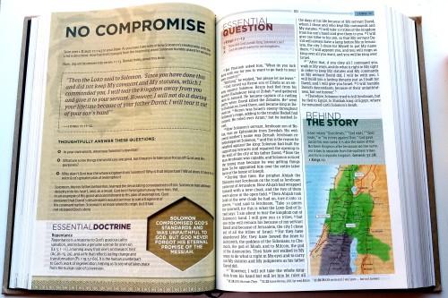 Essential Teen Study Bible - A Peek Inside 1