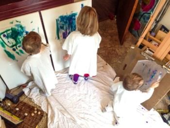 Toddler Art Takeover