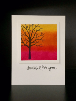Ombre Card