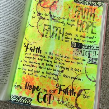 Faith Journaling - Helen Gullett