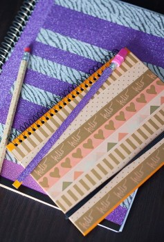 DIY Washi Notebooks