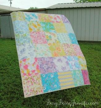 Vintage Quilt Sheet