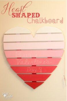 Heart Shaped Chalkbosrd