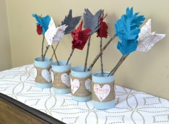 diy-rustic-valentines-day-centerpiece-with-rope-and-felt