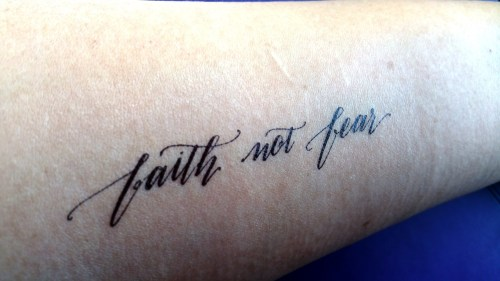Faith Not Fear Solo 50R
