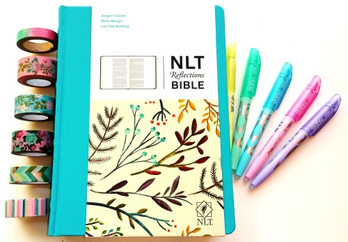 NLT Reflections Bible L - Create With Joy
