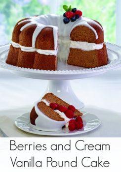 Berries-Cream Cake