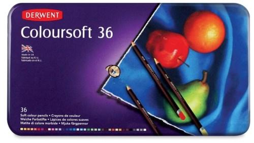 Derwent Coloursoft 36