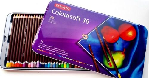 Derwent Coloursoft - A Peek Inside - Reduced R