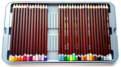 Derwent Coloursoft - Tin Slots 75 L