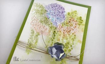 Watercolor Tutorial Card