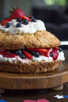 New England Strawberry Shortcake