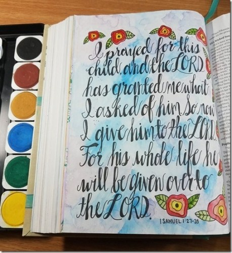 Paulettes Pages Bible Journaling