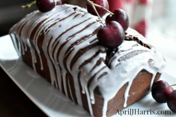 Chocolate Cherry Loaf Cake