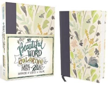 NIV Beautiful Word Coloring Bible - Large Print