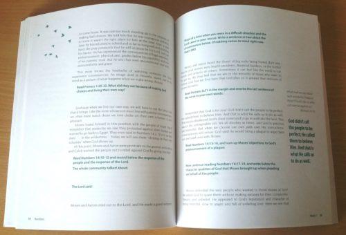 Numbers Workbook - Sample Page