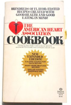 The American Heart Association Cookbook - 1975 2nd Edition