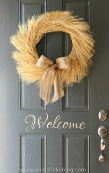 Harvest Wheat Wreath